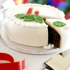 Tasty-Christmas-Santa-Cake-HD-Wallpapers