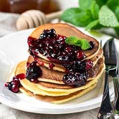 blueberry-pancake